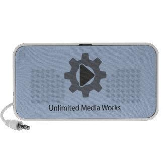 Unlimited Media Works Mini Speaker