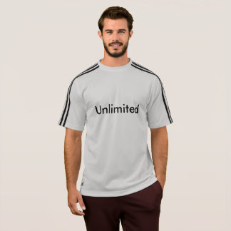 """Unlimited"" Sporty T-Shirt"