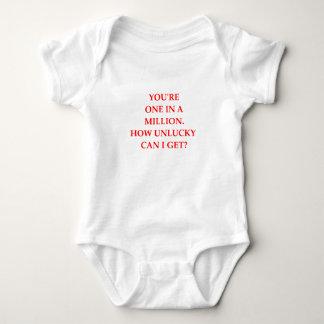 UNLUCKY BABY BODYSUIT