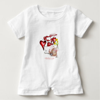 unlucky in love, tony fernandes baby bodysuit