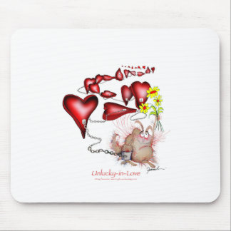 unlucky in love, tony fernandes mouse pad