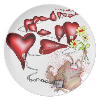 unlucky in love, tony fernandes plate