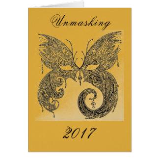 Unmasking 2017 card