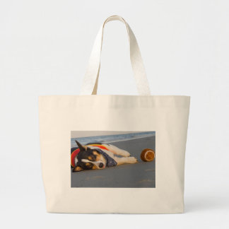 Unnecessary Roughness Canvas Bags