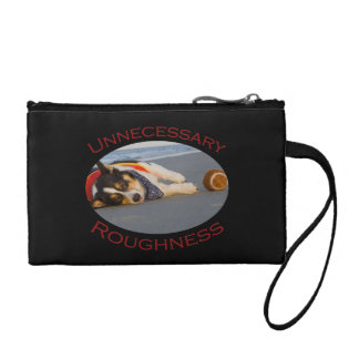 Unnecessary Roughness Change Purses