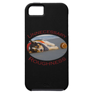 Unnecessary Roughness iPhone 5 Cover