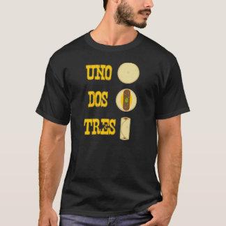 Uno Dos Tres Burrito Tshirt