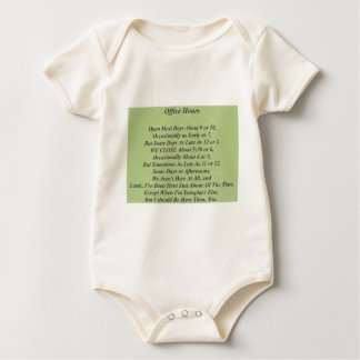Unofficial Office Products Baby Bodysuit