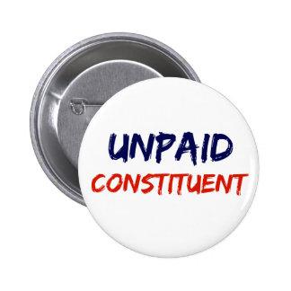 Unpaid Constituent Protest Button
