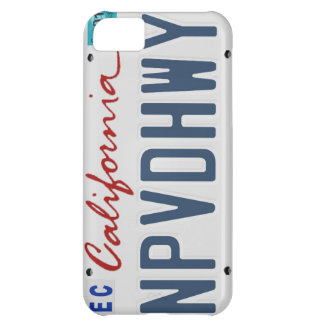 Unpaved Highway NPVDHWY License Plate Phone Case