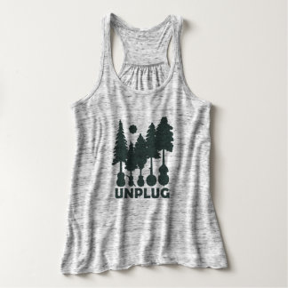 Unplug - Bluegrass Forest Woman T-shirt