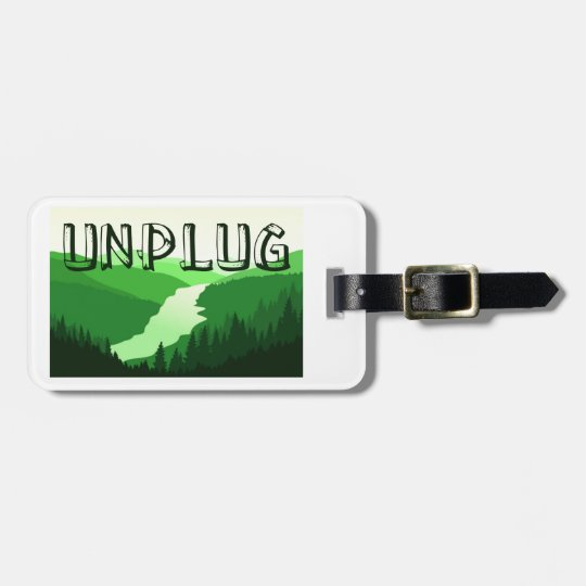 Unplug Luggage Tag