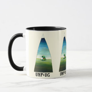Unplug Mountain Mug