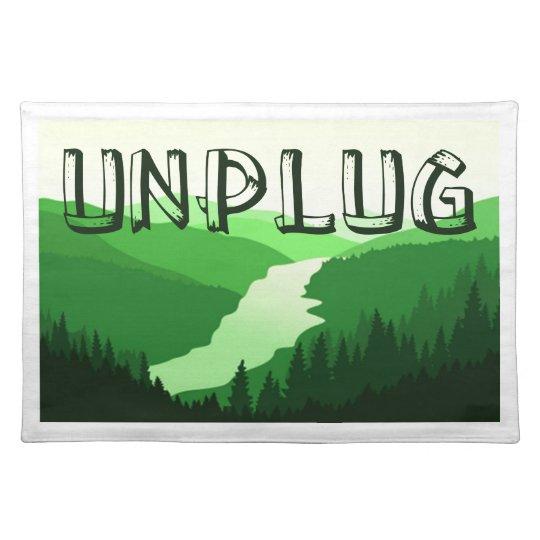 Unplug Placemats