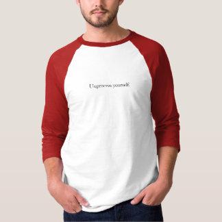 Unprocess yourself. T-Shirt