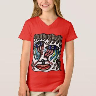 """""""Unreal"""" Girls' V-Neck T-Shirt"""