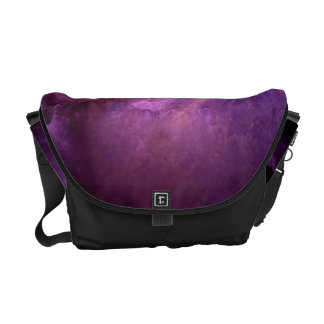 Unreal Purple Clouds Commuter Bag