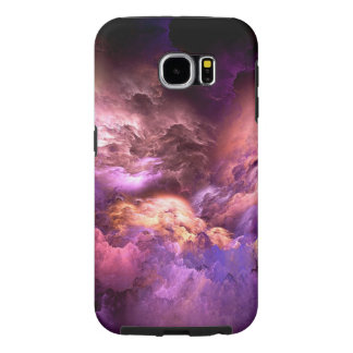 Unreal Purple Clouds Samsung Galaxy S6 Cases