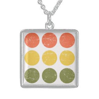 Unreal Tough Bright Brilliant Square Pendant Necklace