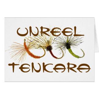 Unreel Tenkara Greetings Card