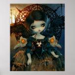 Unseelie Court:  Pestilence ART PRINT Gothic Fairy