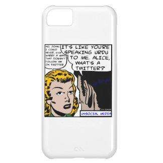 Unsocial Media iPhone Case iPhone 5C Cases