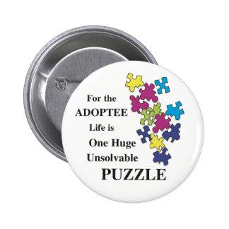 Unsolvable Puzzle 6 Cm Round Badge