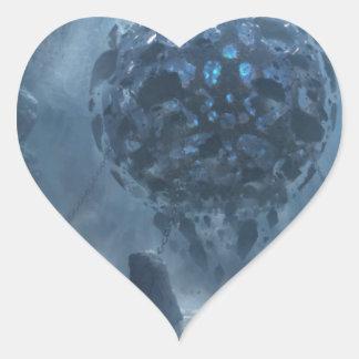 Unspoken Definities Heart Sticker