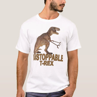Unstoppable T-rex ;.png T-Shirt