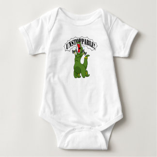 Unstoppable Workout Baby Bodysuit