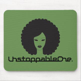UnstoppableOne Femme Mousepad - green