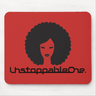 UnstoppableOne Femme Mousepad - red