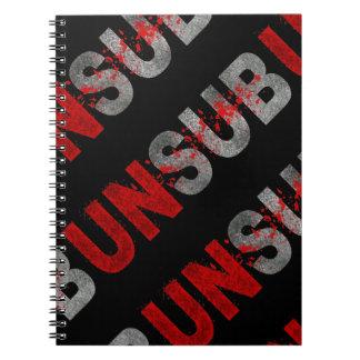 UNSUB SPIRAL NOTEBOOK