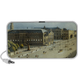 Unter den Linden from the Armoury, c.1855 Travelling Speaker