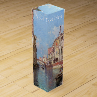 Unterberger's Venice custom wine gift box