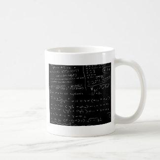 Untidy Chalk Board Coffee Mug