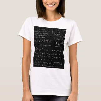 Untidy Chalk Board T-Shirt