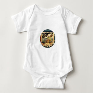 Until in ball we shone by RetroCharms well Baby Bodysuit
