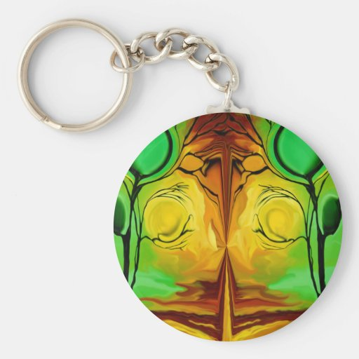 Untitled Abstract 57/ MULTIPLE PRODUCTS Keychain