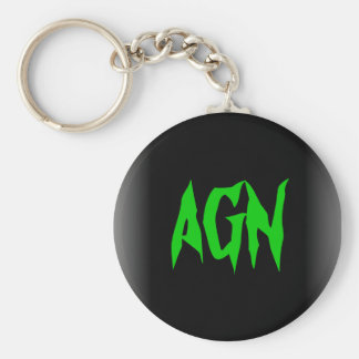 Untitled, AGN Basic Round Button Key Ring