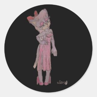 Untitled by Alex Round Sticker