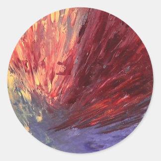 Untitled Creation Round Sticker