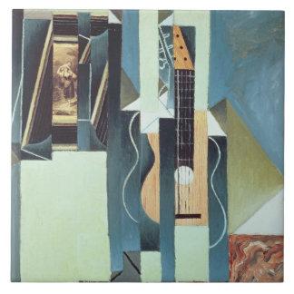 Untitled (oil on canvas) tile