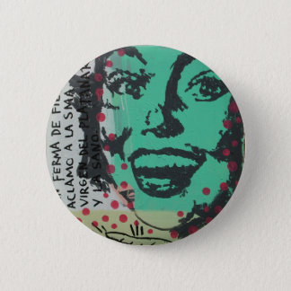 Untitled Pinup 6 Cm Round Badge