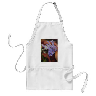 Untitled Purple Flowers Aprons