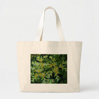 Untitled Yellow Flowers Tote Bags