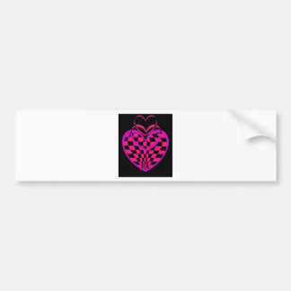 Unusual Hearts Gifts Valentines Day CricketDiane Bumper Stickers