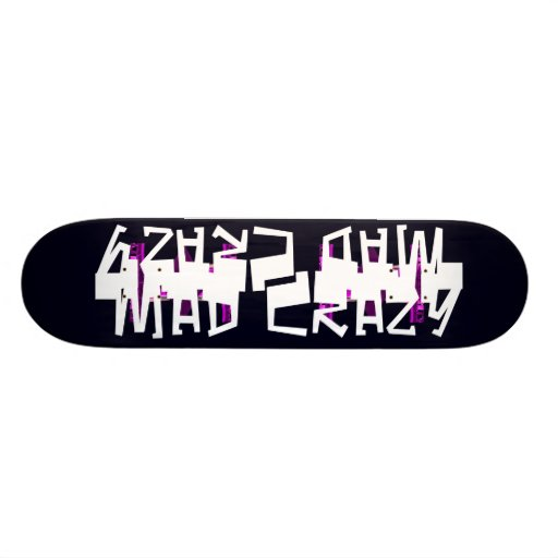 Unusual Skateboard Deck 10 Mad Crazy Design