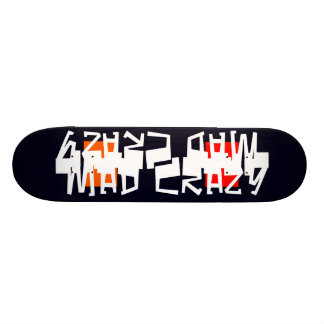 Unusual Skateboard Deck 11 Mad Crazy Design