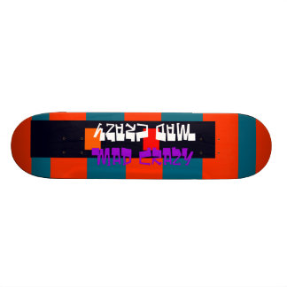 Unusual Skateboard Deck 13 Mad Crazy Design